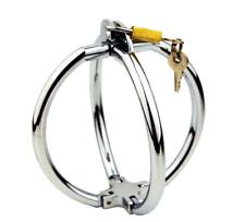 Steel plated Alloy Cross Handcuffs with Lock Key Metal Wrist Cuffs 2 Type Locks