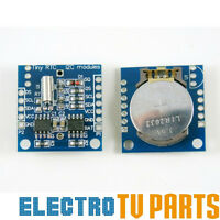 DS1307 I2C RTC Real Time Clock AT24C32 Board Module, Arduino ARM PIC, UK SELLER