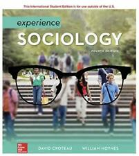 Experience Sociology 4th Intl Edition by David Croteau and William Hoynes