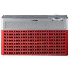 Geneva Touring S Portable Fm/dab Digital Radio and Bluetooth Speaker - Red