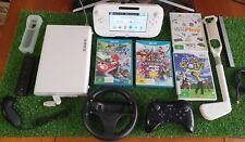 Nintendo Wii U Console, pro controller, remote, Mario Kart 8, Super Smash Bros