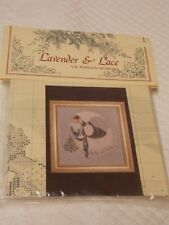 """Lavender & Lace Victorian Designs Counted Cross Stitch Pattern """"Ice Angel"""""""