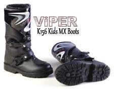 Bottes noirs Viper pour motocyclette
