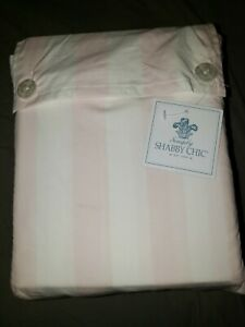 Simply Shabby Chic Pink & White Striped Cabana California King