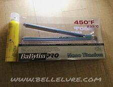 "Babyliss Nano Titanium Ultra Thin Flat Iron 1"" + Shine Spray - BRAND NEW"