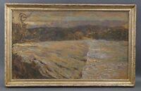 Erwin STARKER (Stuttgart 1872-1938 Ditzingen) - Blick Staustufe Neckar Nürtingen