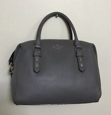 063301d8daa0 NWT Kate Spade Julianne Mulberry Street Pebbled Leather Crossbody Haregrey   359