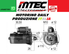 Starter Motor Iveco Daily II Box Combo Promiscuo 0001109344