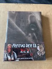 Friday The 13th Part 2 Mediabook Blu Ray New & Sealed Superb Set Rare & OOP