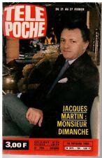 ▬►Télé Poche 784 (1981) JACQUES MARTIN_IAN DURY_BIL HALEY_MAURICE RONET_DUTRONC
