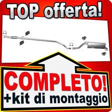 Scarico Completo FIAT Punto / GRANDE PUNTO 1.3D Multijet 2005-2012 Marmitta B49A