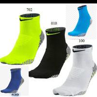 Nike Grip Anti-Slip Cross Fit Training Lightweight Men's Quarter Socks DRI-FIT