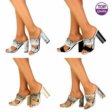 High (3 in. to 4.5 in.) Suede Prom Strappy Heels for Women