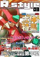 "New Doujinshi Rockman Megaman "" R・Style 03 "" Full Color Art Book"