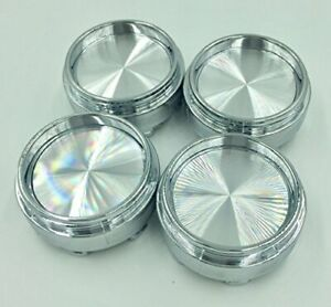4x 65mm Alloy Wheel Center Hub Caps No Logo Compatible With Rays Volk Racing