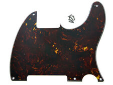 5 Holes Tele Telecaster Pickguard Scratch Plates for Esquire Dark Tortoise