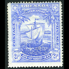 GRENADA 1898 2.5d Discovery. SG 56. Lightly Hinged Mint. (CA70D)