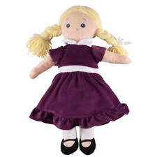 Big Sister Doll with Birthstone Color Dress, February