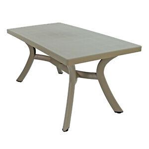 """TOP QUALITY GARDEN TABLE, NARDI """"TOSCANA"""" 160 x 80, TORTORA GREY, BRAND NEW"""