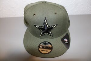 New Era Dallas Cowboys NFL Green/Camouflaged Hat One Size Fits Most