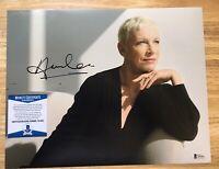 Annie Lennox Signed 11x14 Photo (Eurythmics) Singer Autographed BECKETT BAS COA