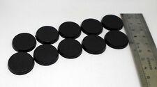 10 socles ronds plastiques / plastic round bases 25mm