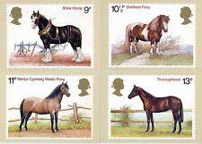 GB POSTCARDS PHQ CARDS MINT NO. 30 1978 HORSES 10% OFF 5+