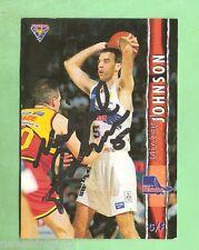 1995  FUTERA AUSTRALIAN BASKETBALL AUTOGRAPHED  CARD - MICHAEL JOHNSON