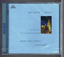 CRISTOBAL DE MORAES CD NEW MISSA MILLE REGRETZ GABRIELI CONSORT & PLAYERS