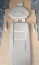 Adec Decade 1010 Nauga Soft NaugaHyde PR51 Cocoa Tan PLUSH Upholstery A-dec