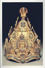 Postcard Buddhist Ritual Crown 12th-13th C Nepal VA Museum Fine Arts MINT