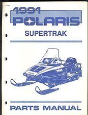 1991 POLARIS  SUPERTRAK  SNOWMOBILE PARTS MANUAL