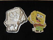 Wilton Sponge Bob Square Pants Aluminum Cake Pan Mold #2105-5130 Viacom 2002