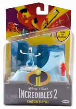 Disney Pixar The Incredibles 2 Frozone Playset Slide And Launch