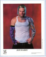 WWE JEFF HARDY P-787 AUTHENTIC LICENSED 8X10 PROMO PHOTO VERY RARE