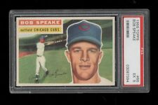 "1956 Topps BB #066 Bob ""Spook"" Speake Chicago Cubs PSA EX 5 !!!!"