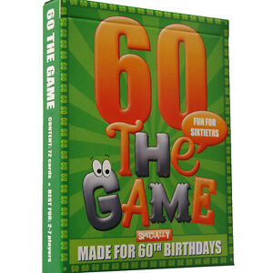 60th BIRTHDAY GIFT PACKAGE - all-in-one 60th birthday present pack. All you need