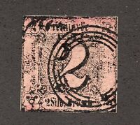 Thurn & Taxis - Sc# 6 Used    /     Lot 0121654