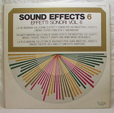 Sound Effects 6 - Effets Sonores Vol.6 1974 Menthe Vinyl Record LP Disco