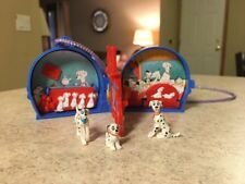Vintage Disney Polly Pocket 101 Dalmatians Once Upon A Time Locket Complete