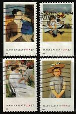 Scott #3804-07 Used Set of 4 Mary Cassatt - Artist