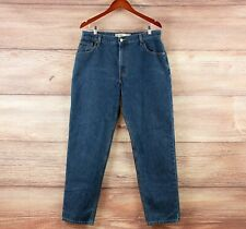 Levi's 550 jeans - vintage 90s high rise tapered leg mum jeans size 12-14