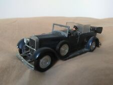 Preciosa miniatura Fiat 525 N de 1929. Papa Pío XI. Solido 1:43.