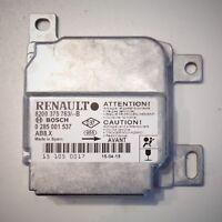 Renault Clio 2 II calculateur airbag NEUF 8200375763 0285001537 AB8.X
