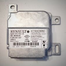 Renault Clio 2 II calculateur airbag NEUF 8200375763 0285001537 AB8.X