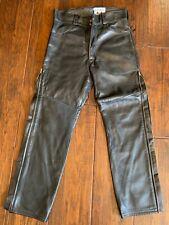 Langlitz Leathers Western Goatskin Motorcycle Leather Pants
