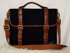 FOSSIL Estate East West Cross Body Messenger Bag Navy Blue