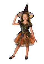 Élégant Costume Sorcière Enfants Costume Déguisement Semaine Du Livre 3/4 Ans