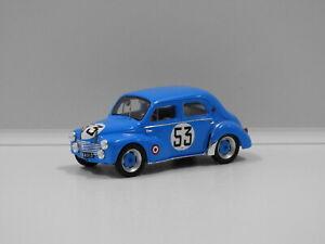 1:43 Renault 4CV 1063 24hr Le Mans (Y.Lesur/A.Briat) 1952 #53 Spark S5225