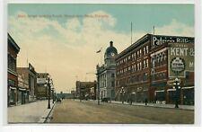 Main Street Moose Jaw Saskatchewan Canada 1910c postcard